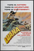 "Movie Posters:Adventure, Luana (Capital Productions, 1973). One Sheet (27"" X 41"") Style B.Adventure...."