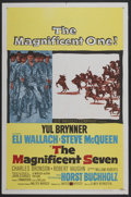 "Movie Posters:Western, The Magnificent Seven (United Artists, 1960). One Sheet (27"" X 41""). Western...."