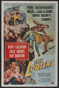 """Movie Posters:Adventure, The Looters (Universal International, 1955). One Sheet (27"""" X 41"""").Adventure...."""