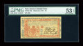 Colonial Notes:New Jersey, New Jersey March 25, 1776 £3 PMG About Uncirculated 53 EPQ....