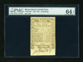 Colonial Notes:Rhode Island, Rhode Island May 1786 40s PMG Choice Uncirculated 64 EPQ....