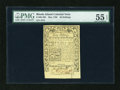 Colonial Notes:Rhode Island, Rhode Island May 1786 40s PMG About Uncirculated 55 EPQ....