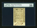 Colonial Notes:Rhode Island, Rhode Island May 1786 20s PMG Choice About Unc 58 EPQ....