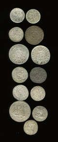 Austria, Austria: Mostly 17th Century Silver Minors Assortment,... (Total: 13 coins)