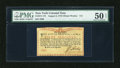 Colonial Notes:New York, New York August 2, 1775 (Water Works) 8s PMG About Uncirculated 50Net....
