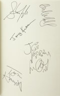Music Memorabilia:Autographs and Signed Items, Aerosmith Signed Band Autobiography (1997)....
