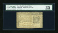 Colonial Notes:New York, New York August 13, 1776 $10 PMG Choice Very Fine 35....