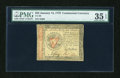 Colonial Notes:Continental Congress Issues, Continental Currency January 14, 1779 $55 PMG Choice Very Fine 35EPQ....