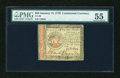 Colonial Notes:Continental Congress Issues, Continental Currency January 14, 1779 $55 PMG About Uncirculated55....