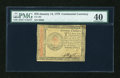 Colonial Notes:Continental Congress Issues, Continental Currency January 14, 1779 $70 PMG Extremely Fine 40....