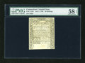 Colonial Notes:Connecticut, Connecticut July 1, 1780 40s PMG Choice About Unc 58 EPQ....