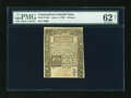 Colonial Notes:Connecticut, Connecticut June 1, 1780 9d PMG Uncirculated 62 Net....