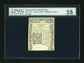 Colonial Notes:Connecticut, Connecticut June 19, 1776 2s6d PMG About Uncirculated 55....