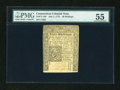 Colonial Notes:Connecticut, Connecticut July 1, 1775 40s PMG About Uncirculated 55....