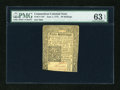Colonial Notes:Connecticut, Connecticut June 1, 1775 40s PMG Choice Uncirculated 63 EPQ....
