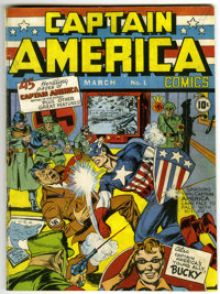 Captain America Comics #1 with Recreated Cover (Timely, 1941)