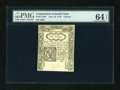 Colonial Notes:Connecticut, Connecticut June 19, 1776 6d PMG Choice Uncirculated 64 EPQ....