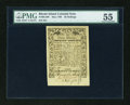 Colonial Notes:Rhode Island, Rhode Island May 1786 30s PMG About Uncirculated 55....