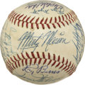 Autographs:Baseballs, 1956 Chicago White Sox Team Signed Baseball....