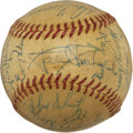Autographs:Baseballs, 1956 Baltimore Orioles Team Signed Baseball....