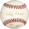Autographs:Baseballs, 1989 New York Yankees Team Signed Baseball....