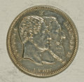 Belgium: , Belgium: Leopold II 2 Francs 1880, KM39, Proof with lightperipheral toning, appears to have been lightly polished at onetime but is...