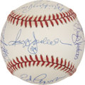 Autographs:Baseballs, 1978 New York Yankees Team Signed Baseball....