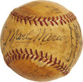 Autographs:Baseballs, 1949 St. Louis Cardinals Team Signed Baseball. ...