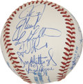 Autographs:Baseballs, 1990 New York Yankees Team Signed Baseball. ...