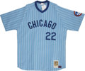Autographs:Jerseys, 1980 Mitchell & Ness Chicago Cubs Bill Buckner SignedJersey....