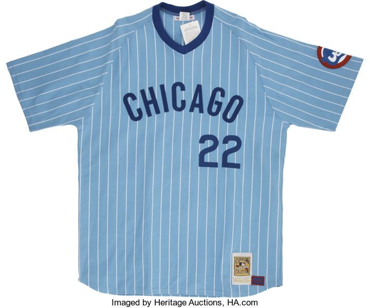 watch 2af19 cfe90 1980 Mitchell & Ness Chicago Cubs Bill Buckner Signed | Lot ...