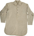 Baseball Collectibles:Others, Circa 1920s Pinstripe Flannel Jersey....