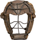 Baseball Collectibles:Others, Vintage Goggle-Eyed Catcher's Mask. ...