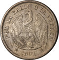 Chile, Chile: Republic Peso 1891,...