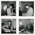 Music Memorabilia:Photos, Elvis Presley Set of Four Rare Snapshots....