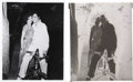 Music Memorabilia:Photos, Elvis Presley and Valerie Allen Rare Photo....