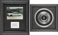 Music Memorabilia:Memorabilia, Elvis Presley's Hubcap from His Lincoln Continental Limo, withPhoto.... (Total: 2 Items)