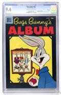 Golden Age (1938-1955):Cartoon Character, Four Color #647 Bugs Bunny's Album - File Copy (Dell, 1955) CGC NM9.4 Off-white to white pages....