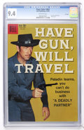 Silver Age (1956-1969):Western, Four Color #983 Have Gun, Will Travel - File Copy (Dell, 1959) CGCNM 9.4 Off-white pages....