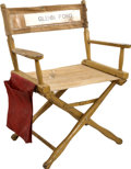 Movie/TV Memorabilia:Memorabilia, Glenn Ford's Director's Chair....
