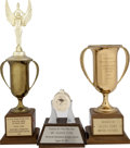 Movie/TV Memorabilia:Awards, Glenn Ford's Motion Picture Trophies.... (Total: 3 Items)