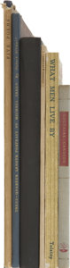 Books:Signed Editions, Lot of Six Small and Private Press Books, Several Signed,... (Total: 6 Items)