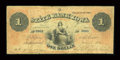 Obsoletes By State:Iowa, Dubuque, IA- State Bank of Iowa $1 July 1, 1861 G84 Oakes 60-6. ...