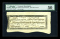 Colonial Notes:Vermont, Vermont Treasury Note March 1784 Sunderland Office 4s8d PMG AboutUncirculated 50....