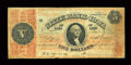 Obsoletes By State:Iowa, Dubuque, IA- State Bank of Iowa $5 Set. 1, 1863 (?) G96 Oakes 60-9....
