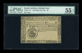 Colonial Notes:South Carolina, South Carolina December 23, 1776 $8 PMG About Uncirculated 55EPQ....