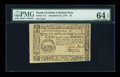 Colonial Notes:South Carolina, South Carolina December 23, 1776 $3 PMG Choice Uncirculated 64EPQ....