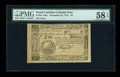 Colonial Notes:South Carolina, South Carolina December 23, 1776 $4 PMG Choice About Unc 58 EPQ....