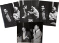 Movie/TV Memorabilia:Photos, Billy Wilder Sunset Boulevard Original ProductionStills with William Holden.... (Total: 4 Items)