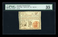 Colonial Notes:Georgia, Georgia June 8, 1777 $3 PMG Choice Very Fine 35....